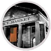 The Market Round Beach Towel
