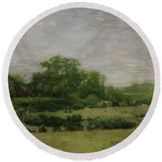 The Meadows Gloucester New Jersey 1883 Round Beach Towel
