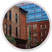 The Merchants Nashville Round Beach Towel