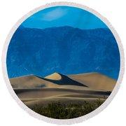 The Mesquite Dunes Round Beach Towel