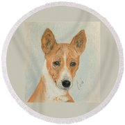 The Mighty Hunter Round Beach Towel