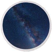 The Milky Way 2 Round Beach Towel by Jim Thompson