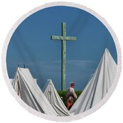 The Millet Cross 6579 Round Beach Towel