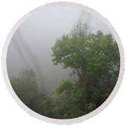 The Mists Round Beach Towel