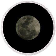 The Moon - La Luna 5 Round Beach Towel