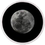 The Moon - La Luna 7 Round Beach Towel