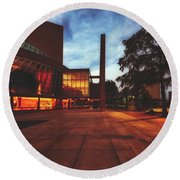 The Myerson Symphony Center - Dallas, Texas Round Beach Towel