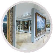 The National Gallery London 6 Round Beach Towel