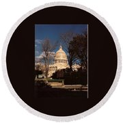 The Nation's Capitol Round Beach Towel