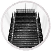 The New York Times Building, Midtown New York Round Beach Towel