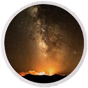 The Night Heaven Struck The Earth Round Beach Towel