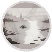 The Nix Round Beach Towel