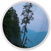 The North Shore At Elkins Round Beach Towel