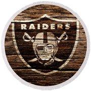 The Oakland Raiders 1e Round Beach Towel