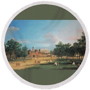 The Old Horse Guards Round Beach Towel