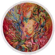 The Olive Branch Round Beach Towel