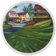 The Opinicon Round Beach Towel