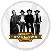 The Outlaws Collection Round Beach Towel