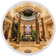 The Palazzo Inside Main Entrance Very Wide Round Beach Towel