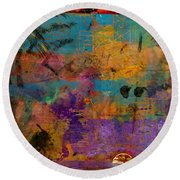 The Parable Round Beach Towel