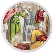 The Parable Of The King And The Round Beach Towel
