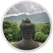 The Path Of The Buddha #10 Round Beach Towel