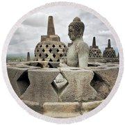 The Path Of The Buddha #6 Round Beach Towel