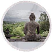 The Path Of The Buddha #9 Round Beach Towel