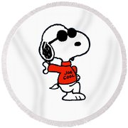 The Peanuts Round Beach Towel
