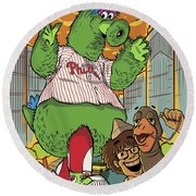 The Pherocious Phanatic Round Beach Towel