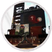 The Phillies - Steve Carlton Round Beach Towel