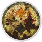The Pittsburgh Steelers R1 Round Beach Towel