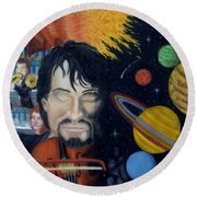 The Planets Suite Round Beach Towel