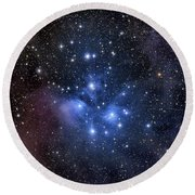 The Pleiades, Also Known As The Seven Round Beach Towel