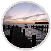 The Present Round Beach Towel