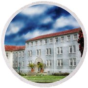 The Presidio  Round Beach Towel