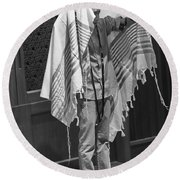 The Priestly Blessing Round Beach Towel