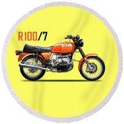The R100 1976 Round Beach Towel