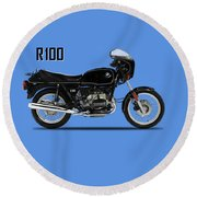 The R100 1984 Round Beach Towel