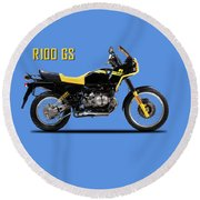 The R100gs 1991 Round Beach Towel