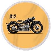 The R12 1935 Round Beach Towel