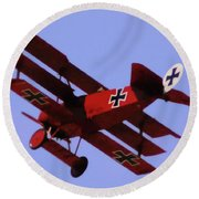 The Red Baron II Round Beach Towel