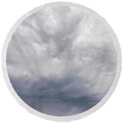 The Rising Storm 2 Round Beach Towel