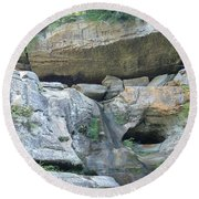 The Rocks Round Beach Towel