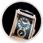 the Rolex Prince, eve rose gold.  Round Beach Towel