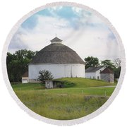 The Round Barn Round Beach Towel