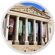 The Schermerhorn Symphony Center Round Beach Towel