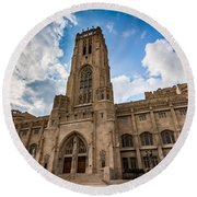 The Scottish Rite Cathedral - Indianapolis Round Beach Towel