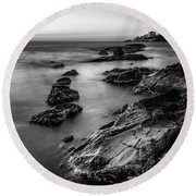 The Sea Serpent Round Beach Towel
