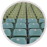 The Seats Round Beach Towel